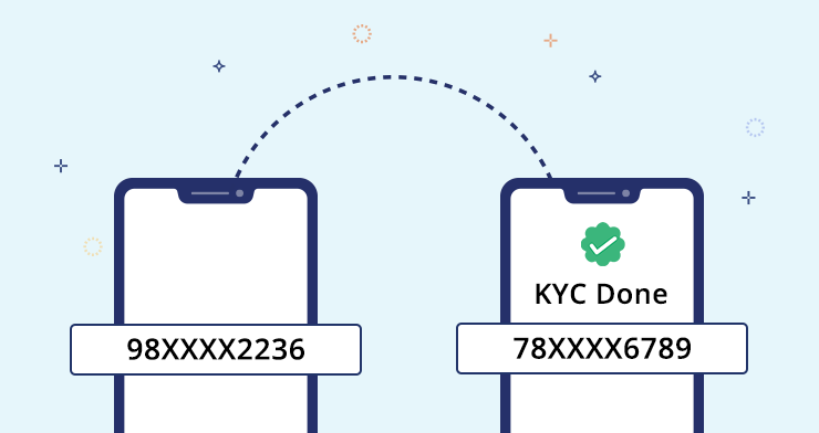 Transferring your KYC from old phone number to New phone number
